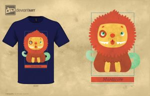 Manticore by Andrewsarchus89