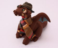 The Fourth Doctor, Dr Who Dragon series by LitefootsLilBestiary