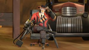 SFM Poster Chilling Pyro by Minicheddarsx