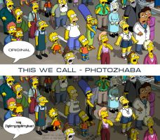 The moghtey Simpsons by IvikN
