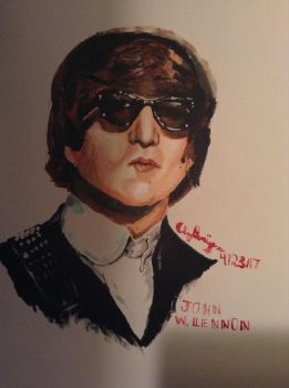Bad quality Lennon by Pop-Shop