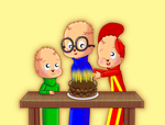 Happy Birthday, Chipmunks!!! by chibialvin