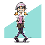 Roller derby -contest entry- by Tikonka