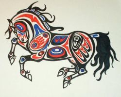 Native Drawings Of Animals
