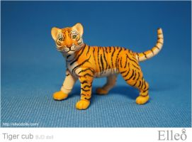 Tiger-cub 02 by leo3dmodels