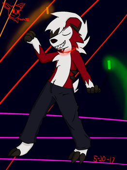 May Anthro Challenge: Party Boy by SesshaXIII