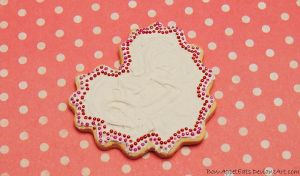 Frosted Heart Cookie Pin by Bon-AppetEats