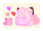 Clefairy and Poke Doll by Tannermema