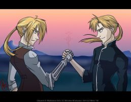 Pulling Together - FMA by Ahr0