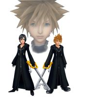 Roxas Xion and Sora by xCheshireGrin228