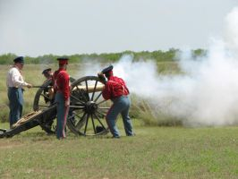 US 6lber Cannon Firing 1 by Like--A--Fox