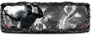 Black Spider man sign by Rablidade