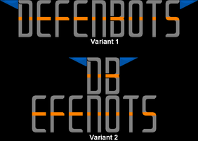 Defenbots Logo(Try Out) by YellowNinja123