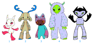 Old Designs for Sale by Meeshi