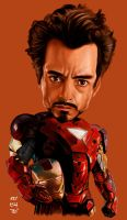 Iron Man Caricature by rommel3075