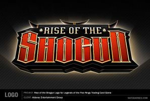 Rise of the Shogun Logo by natebarnes