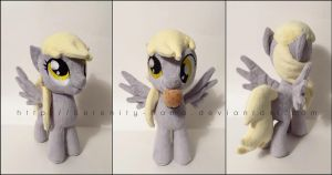 Plushie: Derpy Hooves - My Little Pony: FiM by Serenity-Sama