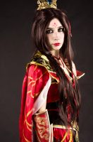 wizard cosplay from Diablo 3 portrait by Daraya-crafts
