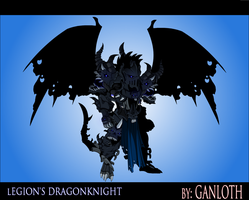 Undead Legion's Dragonknight by Bill-James