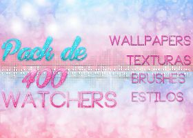 Pack de 400 Watchers {Leer descripcion} by Upinflames12