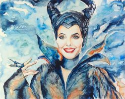 Maleficent by MariaBruggeman