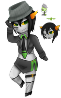 Wow this is really late I'm sorry-HATCHED FANTROLL by MistressAmerah
