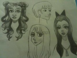 Character designs by Duende-Mix