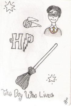Random Harry Potter Sketches by littlemermaid2787