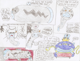 'King' Wussy and his 'army' doodles