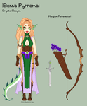 ToS - Elenna Reference Sheet by porcelian-doll