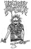 Homicide Republic Crust Punk by GraveLord138
