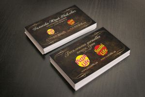 Business card by leila1605