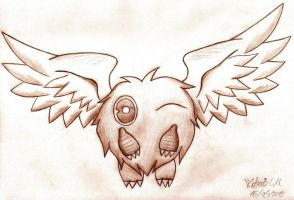 Winged Kuriboh by EXIronRob