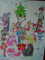 TMM Christmas Poster by Tamao