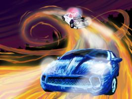 Hot Wheels Chase by Inaaca