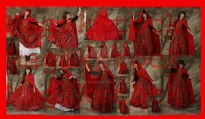 red ridding hood set 2 by magikstock