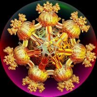golden snowflake by Andrea1981G