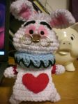 White Rabbit Amigurumi by Slowdance-Romance