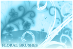 Floral Brushes For Gimp by inge123
