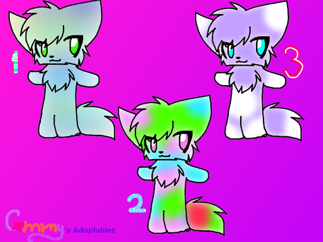 Adoptables 1 ~CATS~ by CammysAdoptables