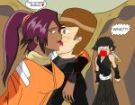 Redo Yoruichi licking Matthew by gamemaster8910