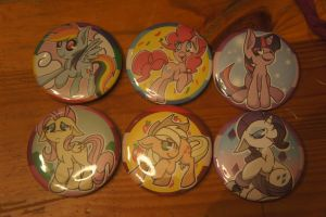 MLP Buttons For Sale by LordBoop
