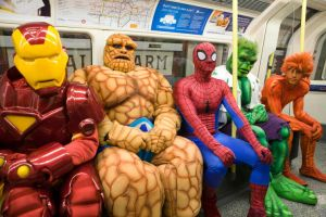 Marvel Subway by MARCIOABREU7