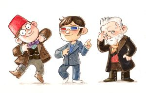 Doctor Who Midlife Crisis by Gigei