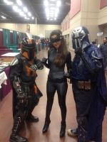 Boba Fett meets Catwoman by Romantically-Geeky