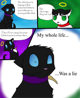 My whole life iz a lie by DrakynWyrm
