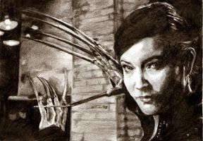 lady deathstrike - kelly hu by tengari