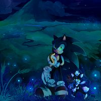 ::Gift:: Gazing at Fireflies by koda-soda