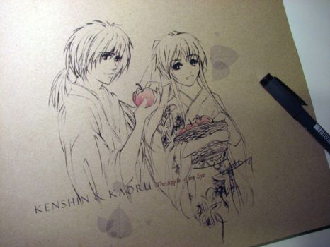 Kenshin - The Apple of my Eye by alicia-lee