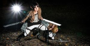 Attack on Titan - Der Beschuetzer by Firiless
